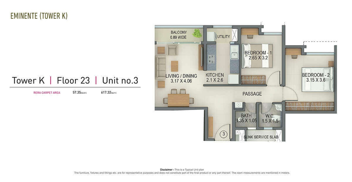 tata amantra apartment 2 bhk 579sqft 20205428105455