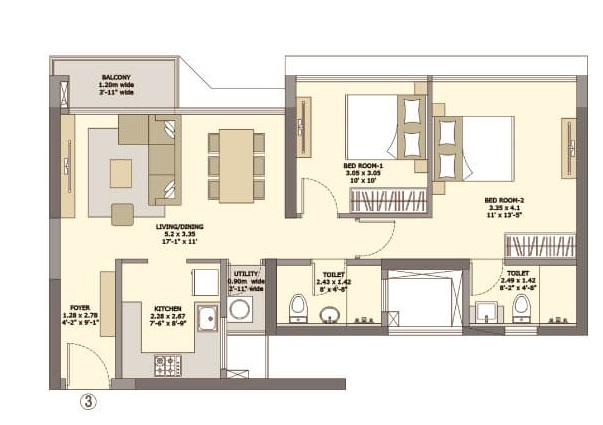 tata serein apartment 2 bhk 580sqft 20205610115614