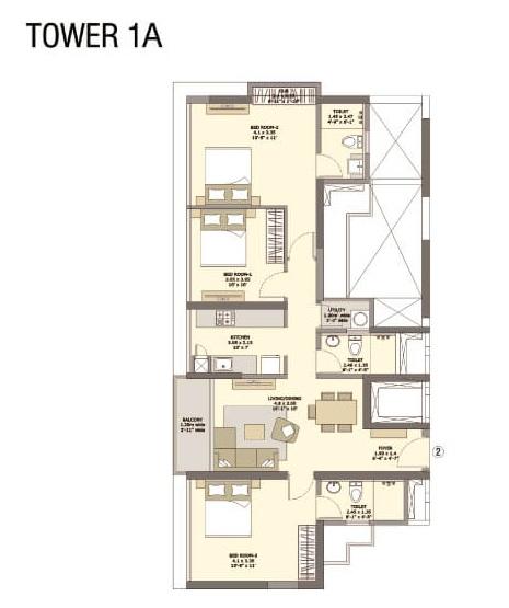 tata serein apartment 3 bhk 943sqft 20205710115747