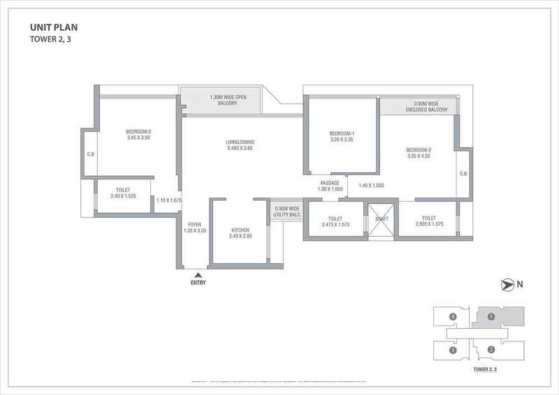 tata serein apartment 3 bhk 985sqft 20203928103917