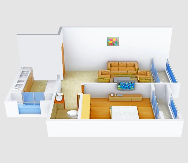 versatile valley apartment 1bhk 392sqft51
