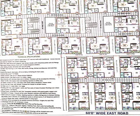 anjana greenpark master plan image1