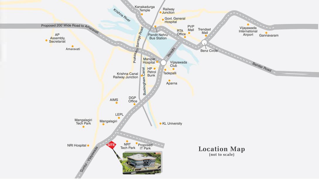 mayuri tech park location image1