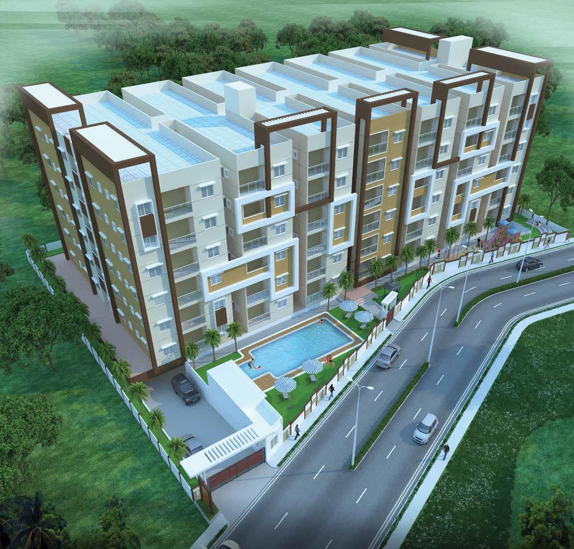 prasiddhi sri rama temple bells project tower view2