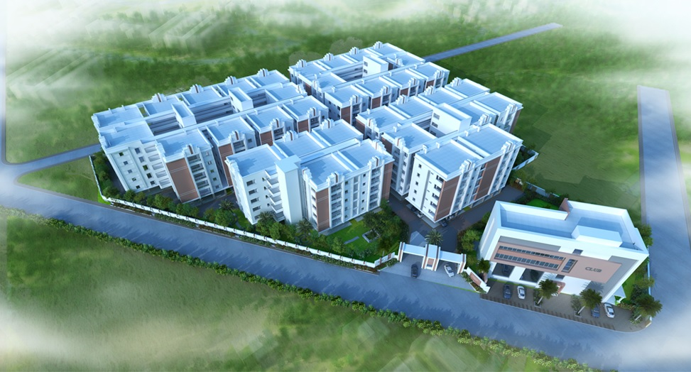 slv amaravathi grand project tower view1