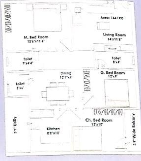 laasya grandiose apartment 3bhk 1447sqft 1