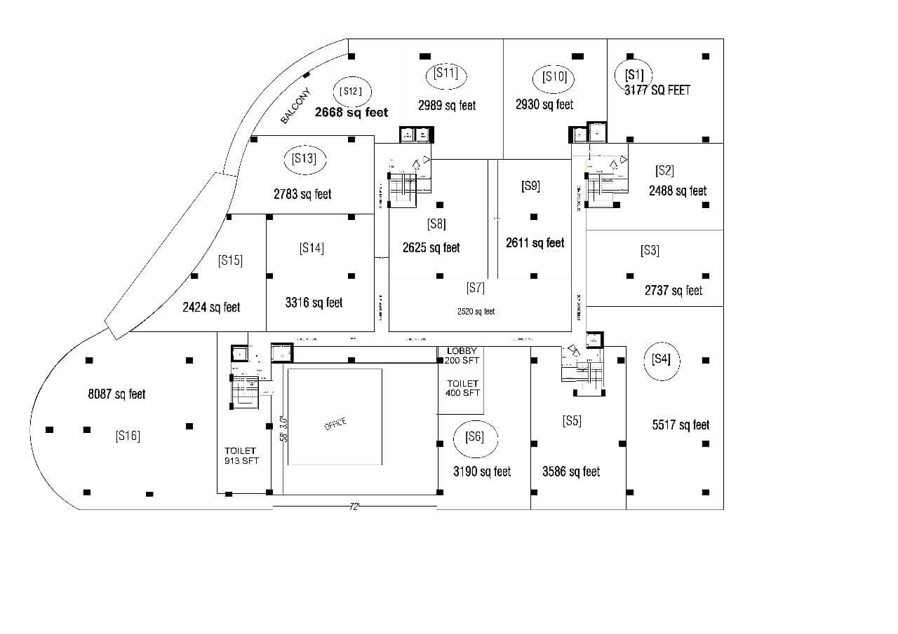 mayuri tech park office space 3177sqft 1