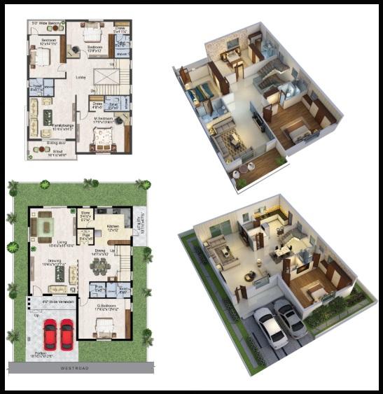 prime grandeur villa 3 bhk 2487sqft 20200302190347