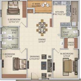 slv amaravathi grand apartment 3 bhk 1850sqft 20213111163132