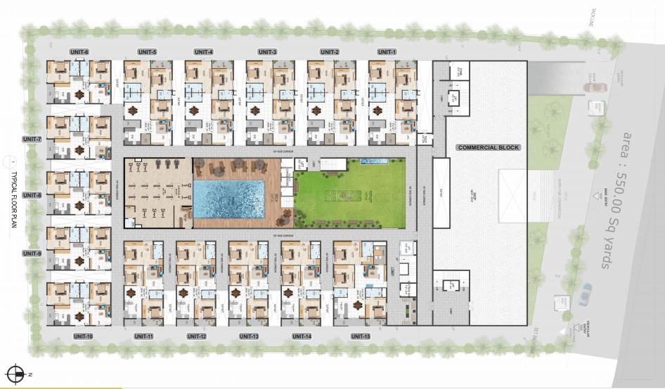 abhilash yaksha square master plan image1