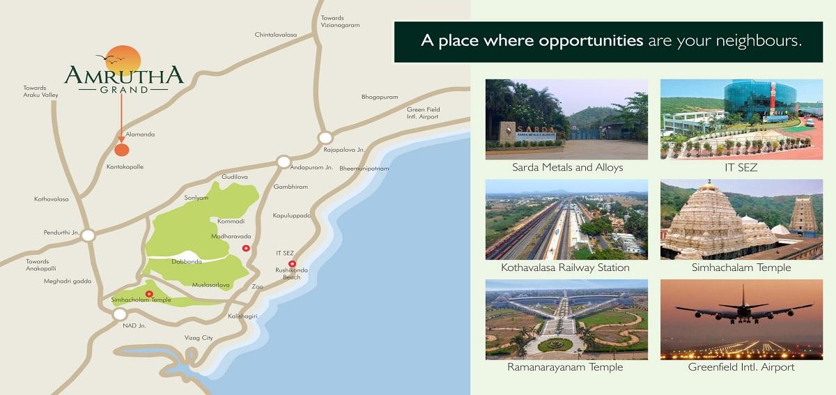 bathini amrutha grand phase 2 project location image1