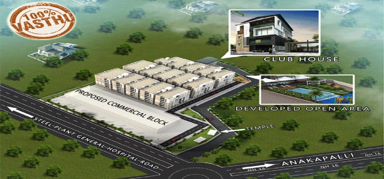 kavya vijaya valencia project master plan image1