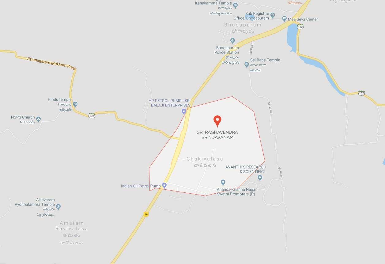 navaratna sri raghavendra brindavan project location image1