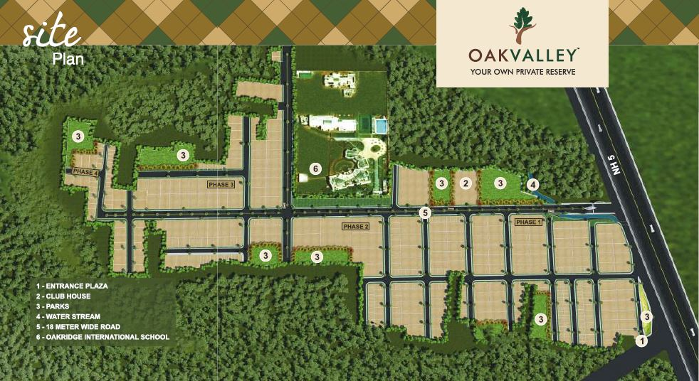 oak valley project master plan image1