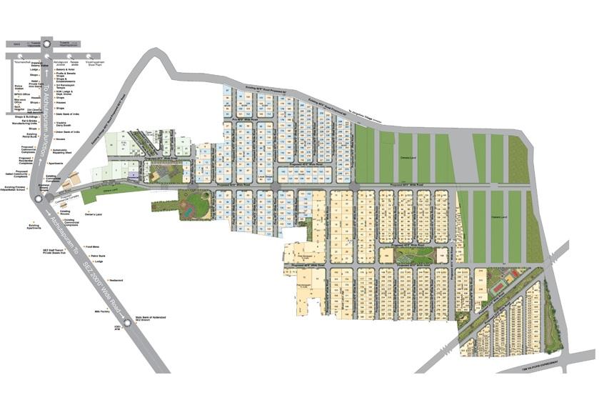 scpl sripuram gardens project master plan image1