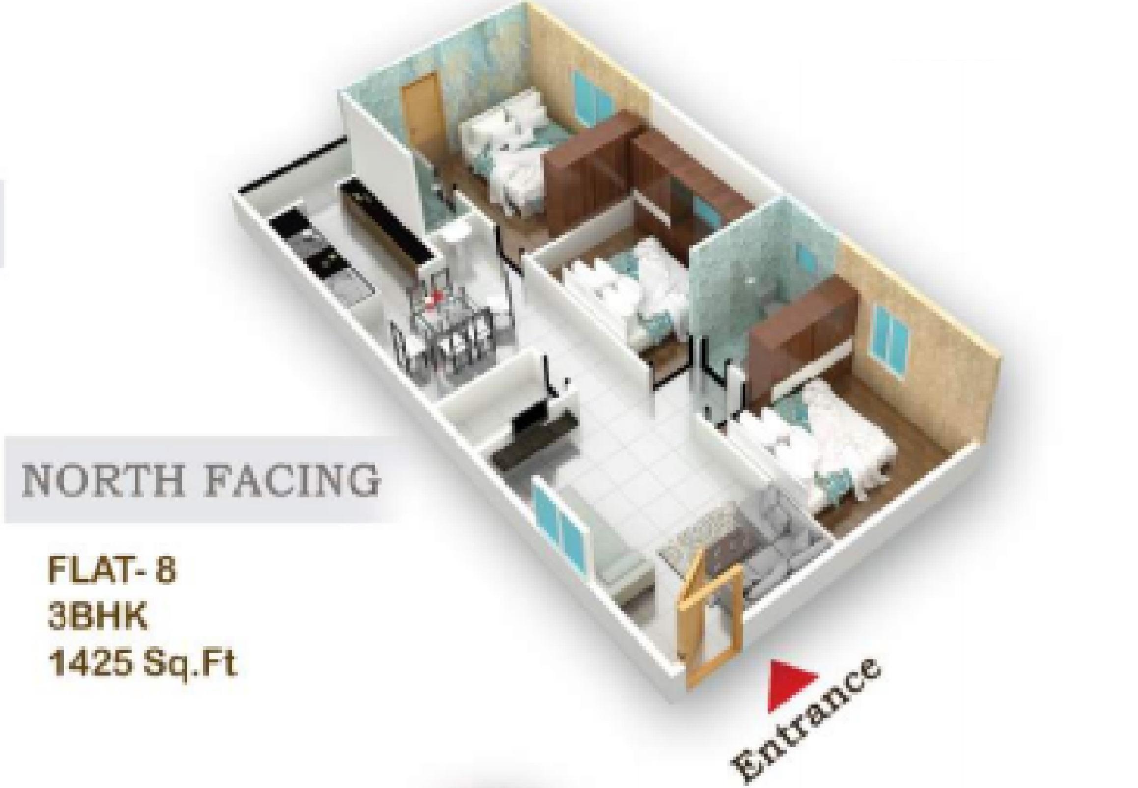 flora beau fort apartment 3bhk 1425sqft41