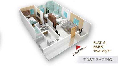 flora beau fort apartment 3bhk 1640sqft31