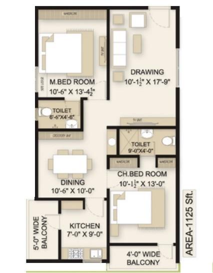 sri sky gardens apartment 2 bhk 1125sqft 20205613105627